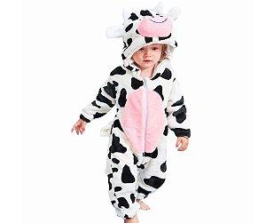 Fantasia de Pelúcia Vaca tam - 24 meses