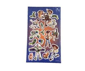 Adesivo Toy Story azul alto relevo com 14 und