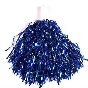 Pompom azul kit com 2 und
