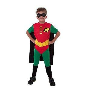 Fantasia Robin infantil G 10 a 12 anos
