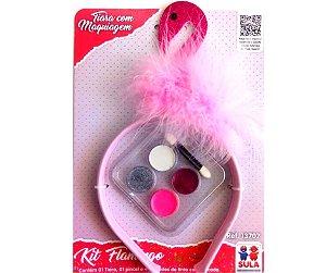 Kit Flamingo com Maquiagem