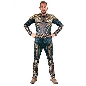 Fantasia Aquaman adulto G Luxo - Aluguel