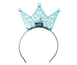 Tiara Princesa Azul com Led