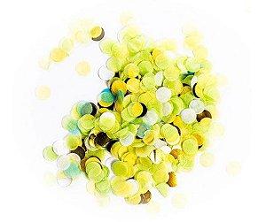 Confete para Balão Verde Claro