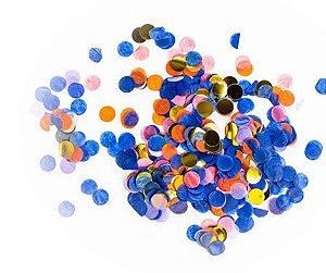 Confete para Balão Azul Escuro