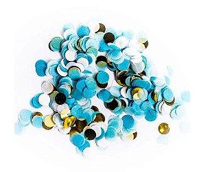 Confete para Balão Azul