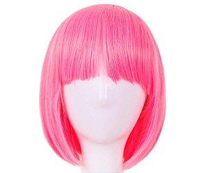 Peruca Rosa Pink Chanel