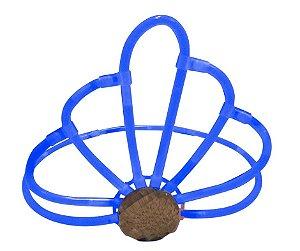 Coroa Neon Azul