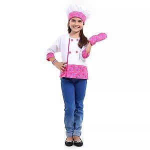 Barbie Cozinheira tam M 6 a 8 anos