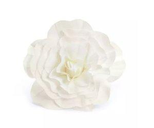 Flor Decorativa 45cm Branco