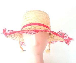 Chapéu Caipira Feminino Pink