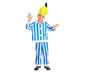 Fantasia Banana de Pijama B2 PP 2 anos