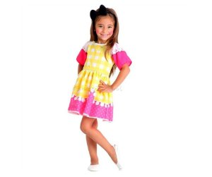 Fantasia Lalaloopsy Crumbs Sugar Cookie P - 4 anos