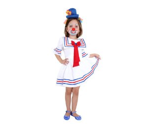 Fantasia vestido Patati M 6 anos