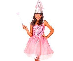 Fantasia Fada Rosa Pink tam 10