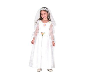 Vestido Noiva Caipira tam G 10 a 12 anos