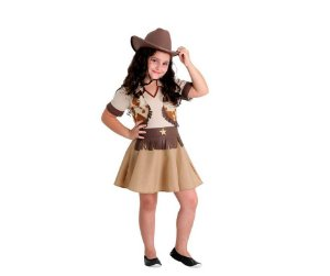 Fantasia Cowgirl tam M 6 a 8 anos