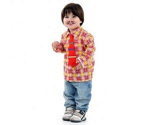 Camisa Caipira Xororó bebê 1 ano