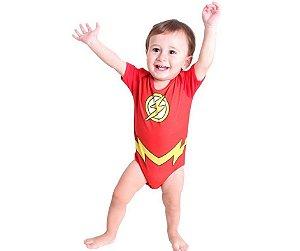 Body The Flash Bebê G 9 meses