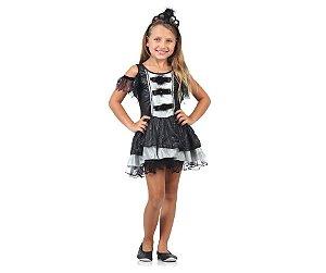 Fantasia Princesa do Mal tam P 2 a 4 anos
