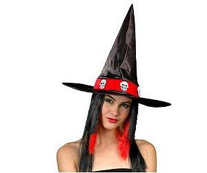 Chapéu de Bruxa Caveira