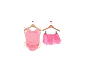 Fantasia Borboleta Bebê Rosa M 2 anos