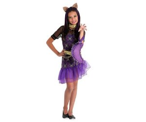 Fantasia Clawdeen Monster High G - 10 a 12 anos