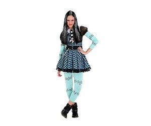 Fantasia Frankie Monster High Xadrez M 6 a 8 a Anos