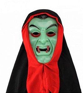 Máscara Dracula com capuz