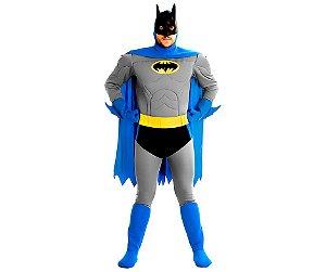 Fantasia Batman Bravos e Destemidos Tam: P 38/40 - Usada