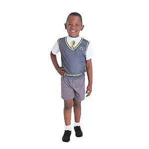Fantasia Carrossel Masculina Infantil tam M 6 a 8 anos