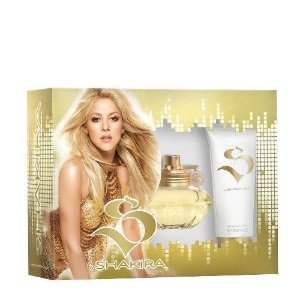 Kit Perfume S By Shakira Feminino Eau De Toilette 80 Ml + sllky body lotion 100 ml