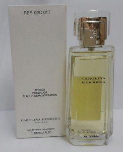 Téster New York Eau De Toilette Carolina Herrera-Perfume Feminino 100 ML