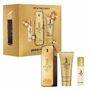 Kit One Million Perfume 100ml + Shower Gel 100ml + Miniatura 5ml
