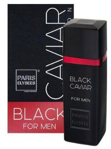 Black Caviar Black For Men Paris Elysees - Perfume Masculino 100ML