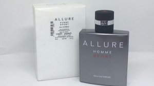 Téster Allure Homme Sport Eau Extreme Chanel - Perfume Masculino 100 ML