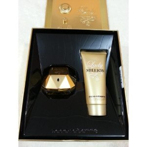 Kit  Lady Million-Perfume Feminino EDP 50ml + Loção corporal 100ML Paco Rabanne