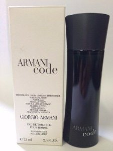 Tester Armani Code Eau de Toilette Giorgio Armani - Perfume Masculino - 75ML