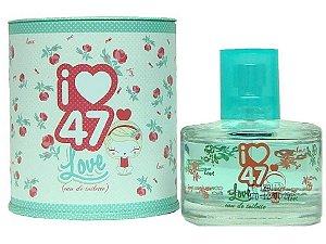 Perfume Love  Eau de Toilette  Feminino 47 Street  60ml