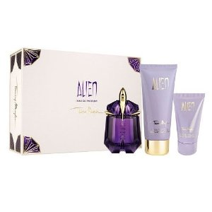 Kit Alien Eau de Parfum Thierry Mugler  - Perfume Feminino 30ml + Shower Gel 50ml + Body Lotion 100ml
