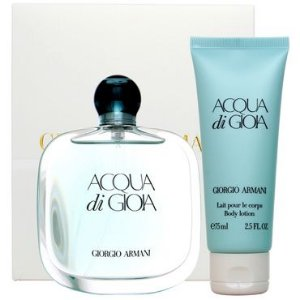 Kit Acqua Di Gioia Eau de Parfum Giorgio Armani - Perfume Feminino 100 ML + Loção Corporal 75 ML