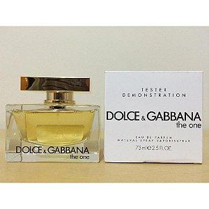 Tester The One Eau de Parfum Dolce & Gabbana - Perfume Feminino - 75ML