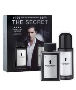 The Secret Eau de Toilette Antonio Banderas - Perfume Masculino 100 ML + Desodorante 150 ML