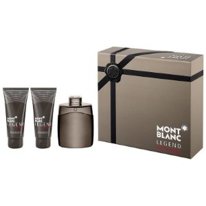 Kit Legend Intense Montblanc Eau de Toilette 100ML + After Shave 100ML + Shower Gel 100ML