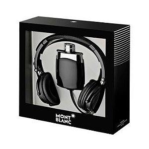 Kit Legend Eau de Toilette Montblanc - Perfume Masculino 100 ML + Headphones