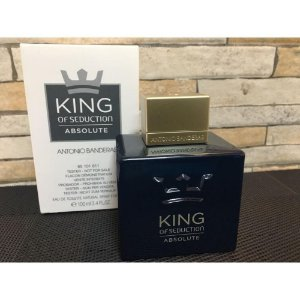 Téster King of Seduction Absolute Antonio Banderas Eau de Toilette - Perfume Masculino 100ml