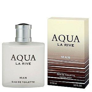 3 Unidades  Aqua La Rive Man Eau de Toilette La Rive Perfume Masculino 90ml