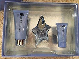 Kit Perfume Angel Eau De Parfum 25ML + Body Lotion 50ML + Gel 50ML - Perfume Feminino