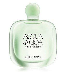 Acqua Di Gioia Eau De Toilette Giorgio Armani - perfume Feminino