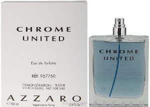 Téster Chrome United Eau de Toilette - Perfume Masculino 100 ML